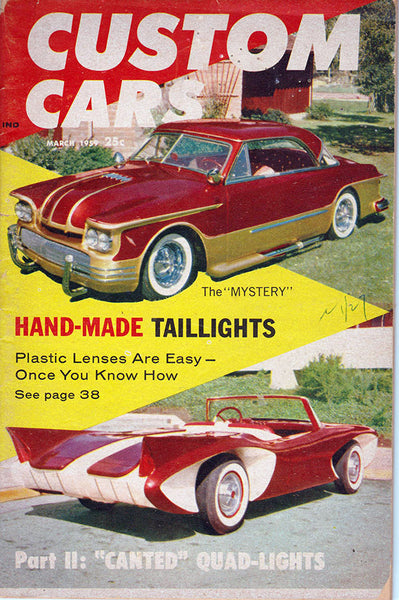 March 1959 Custom Cars Magazine