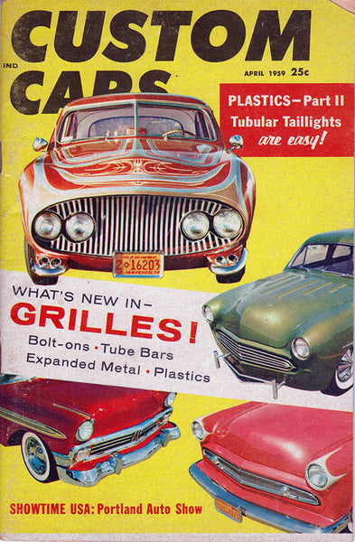 April 1959 Custom Cars Magazine