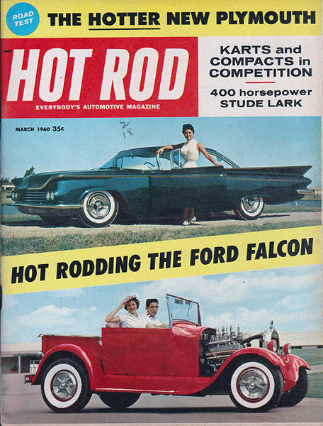 March 1960 Hot Rod Magazine