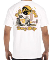Malibu Shirts Half Moon Bay Slingshot White T-Shirt - Back