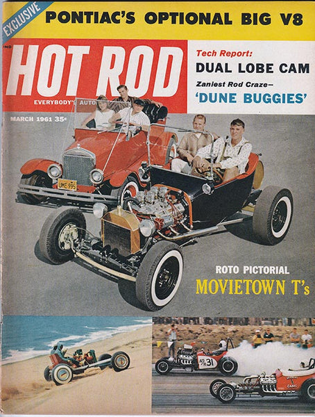 Hot Rod Magazine March 1961 - Nitroactive.net