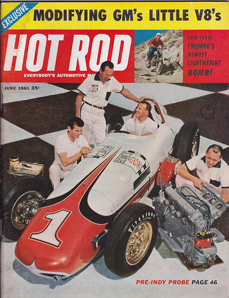 June 1961 Hot Rod Magazine