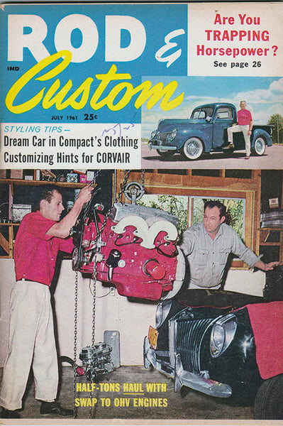 July 1961 Rod & Custom - Nitroactive.net
