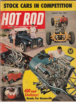 Hot Rod Magazine August 1961 - Nitroactive.net