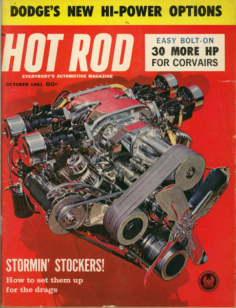 Hot Rod Magazine October 1961 - Nitroactive.net
