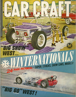 May 1962 Car Craft Magazine Cover View