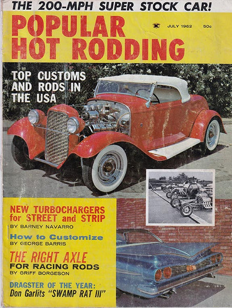 July 1962 Popular Hot Rodding Magazine