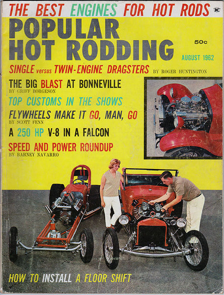 August 1962 Popular Hot Rodding Magazine