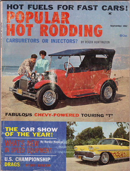 September 1962 Popular Hot Rodding magazine
