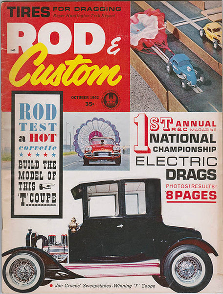 October 1962 Rod & Custom Magazine