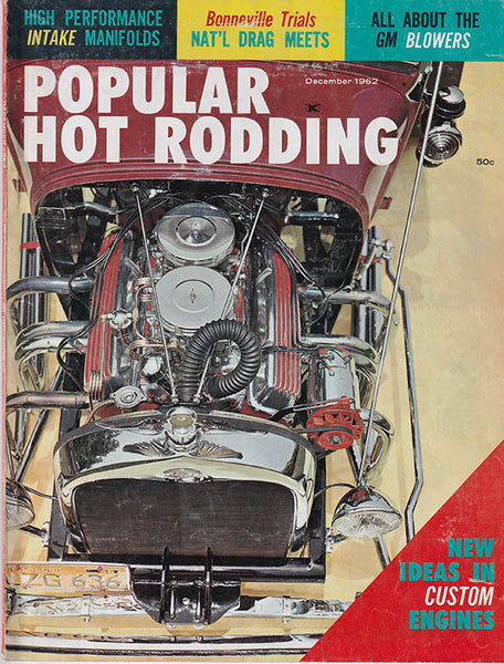 December 1962 Popular Hot Rodding Magazine