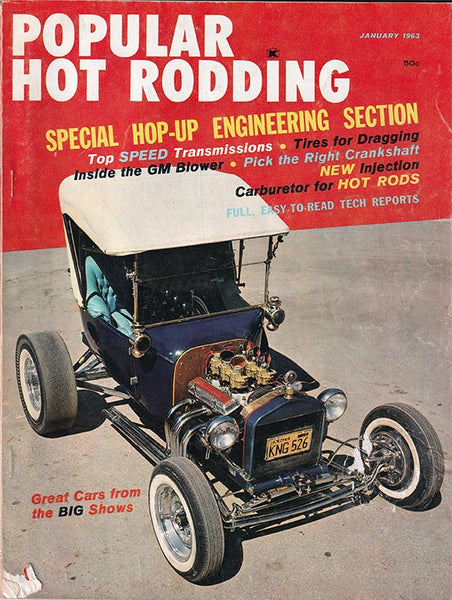 January 1963 Popular Hot Rodding Magazine