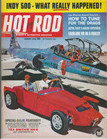August 1963 Hot Rod Magazine Cover XR-6