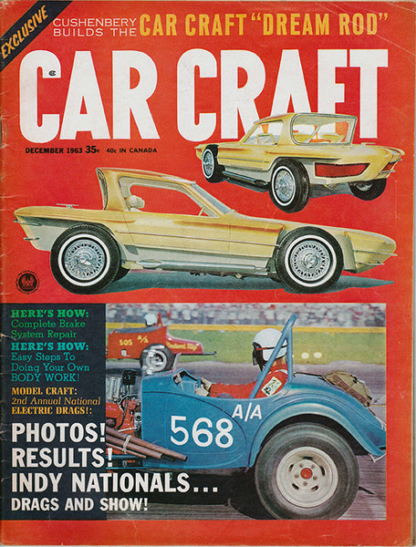 December 1963 Car Craft Magazine