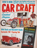 January 1964 Car Craft Magazine Cover