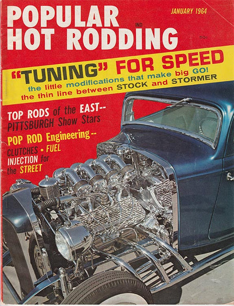 Popular Hot Rodding January 1964 - Nitroactive.net