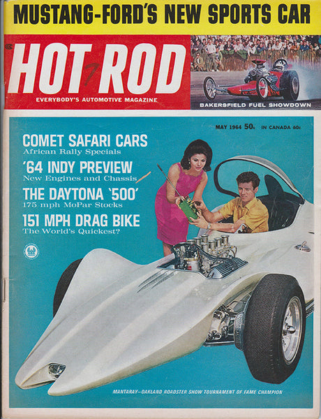 May 1964 Hot Rod Magazine Dean Jeffries Mantaray