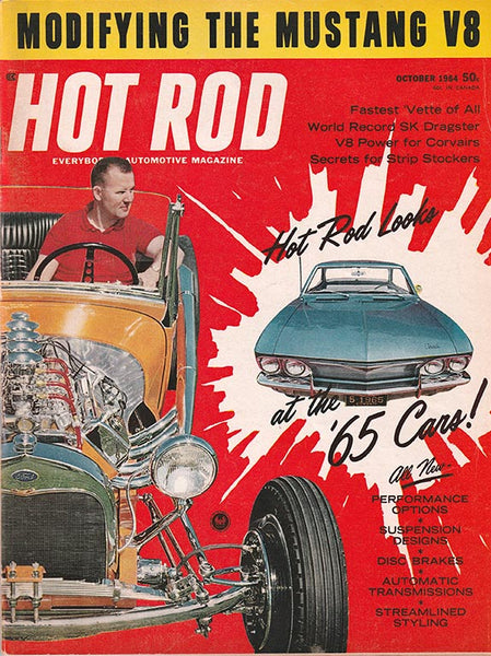 Hot Rod Magazine October 1964 - Nitroactive.net