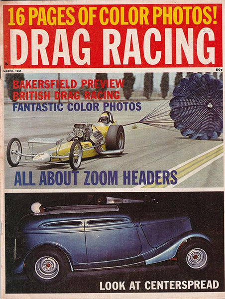 March 1965 Drag Racing Magazine