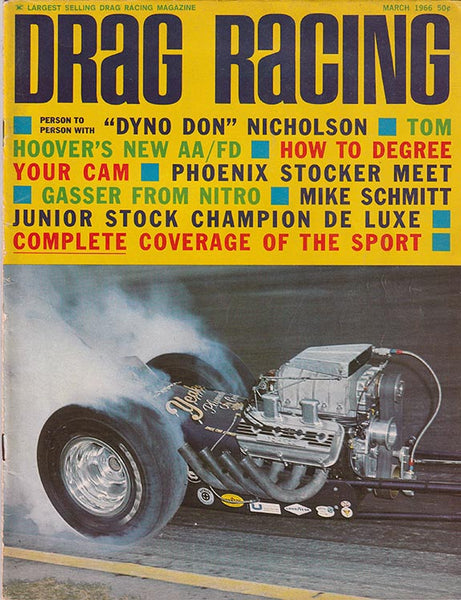 March 1966 Drag Racing Magazine
