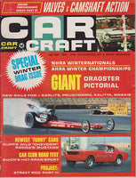 May 1966 Car Craft Magazine Cover Drag Racing