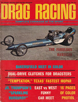 June 1966 Drag Racing Magazine Hawaiian Dragster Cover