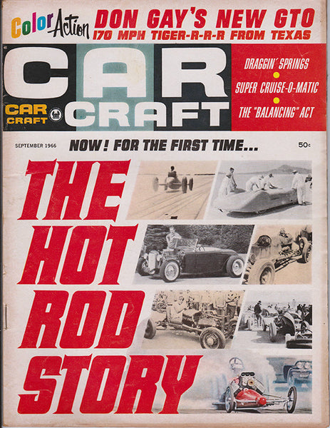 September 1966 Car Craft Magazine