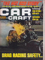 November 1966 Car Craft Magazine Cover