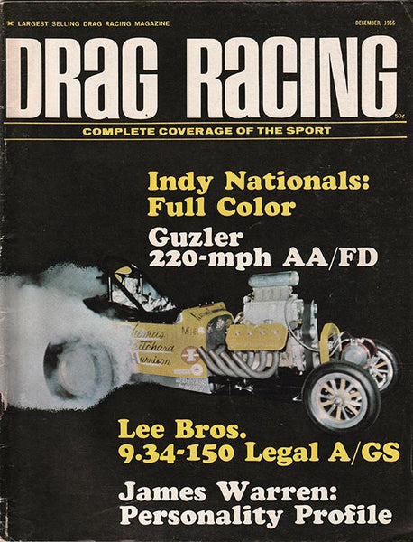 Drag Racing December 1966 - Nitroactive.net