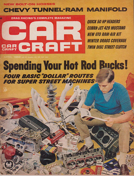 April 1968 Car Craft Magazine - Nitroactive.net
