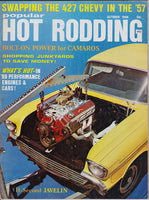 October 1968 Popular Hot Rodding Magazine Cover Project X