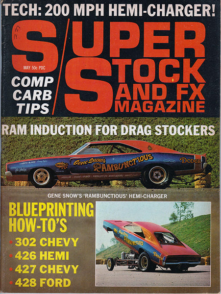 May 1969 Super Stock and FX Magazine