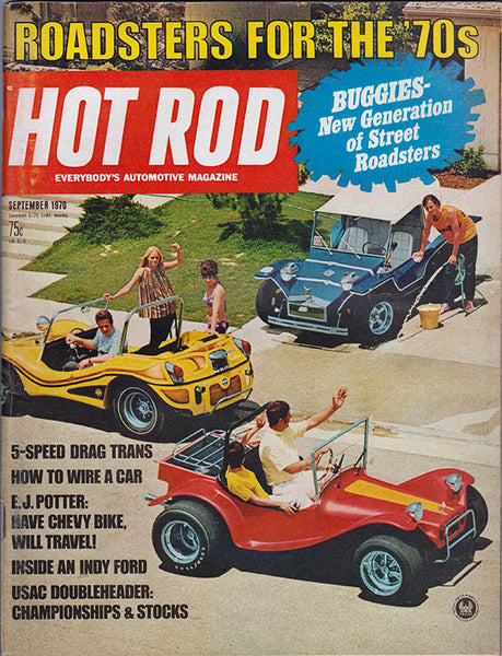 Hot Rod Magazine September 1970 - Nitroactive.net