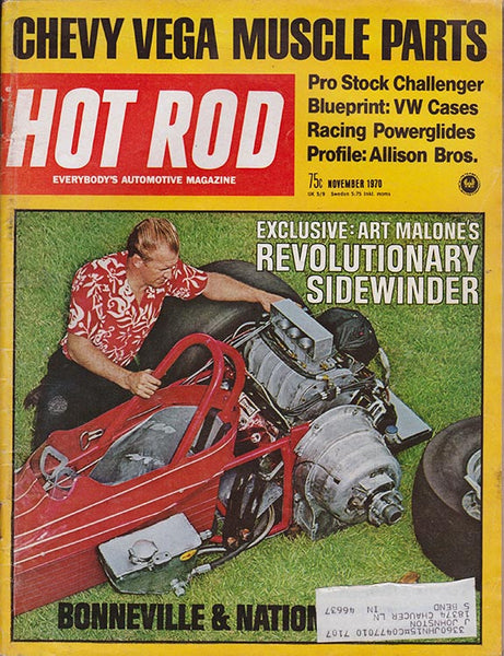 November 1970 Hot Rod Magazine - Nitroactive.net