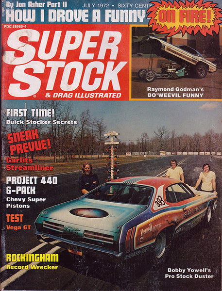 Super Stock & Drag Illustrated July 1972 - Nitroactive.net