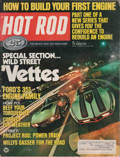 August 1972 Hot Rod Magazine - Nitroactive.net