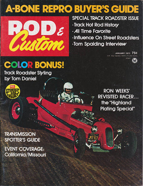 January 1973 Rod & Custom Magazine - Nitroactive.net