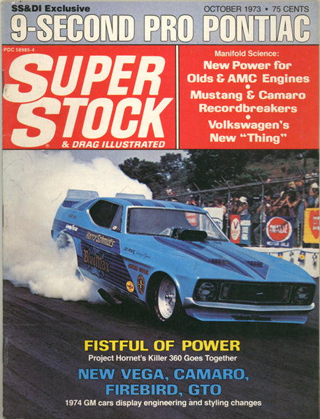 Super Stock & Drag Illustrated October 1973 - Nitroactive.net
