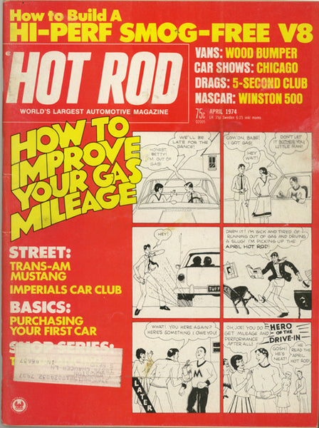 Hot Rod Magazine April 1974 - Nitroactive.net