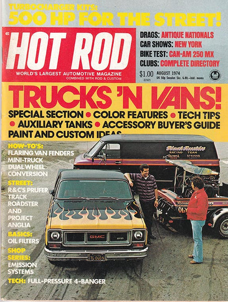Hot Rod Magazine August 1974 - Nitroactive.net
