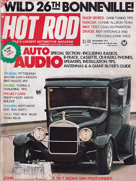 Hot Rod Magazine December 1974 - Nitroactive.net