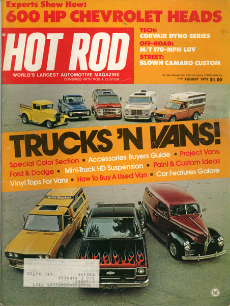 Hot Rod Magazine August 1975 - Nitroactive.net