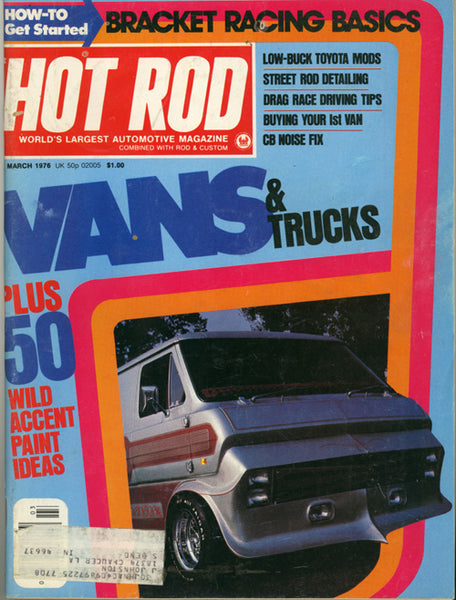 Hot Rod Magazine March 1976