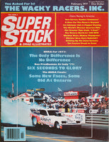 February 1977 Super Stock & Drag Illustrated Magazine