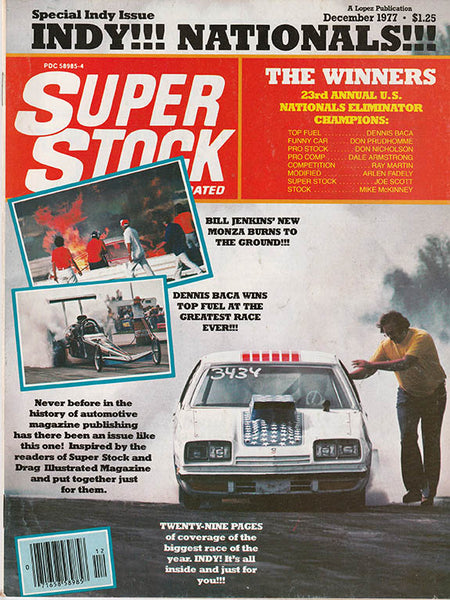 Super Stock & Drag Illustrated December 1977 - Nitroactive.net
