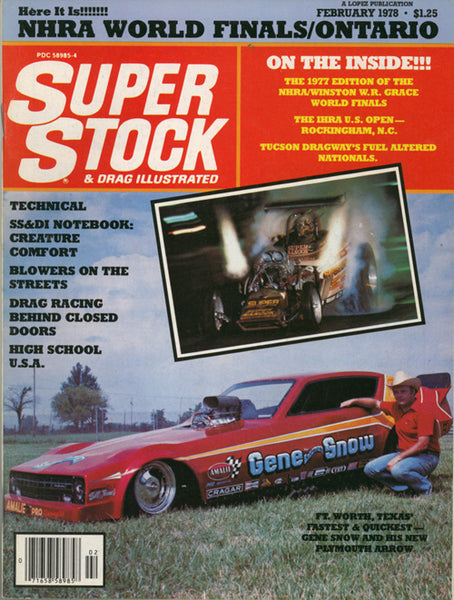 Super Stock & Drag Illustrated February 1978 - Nitroactive.net