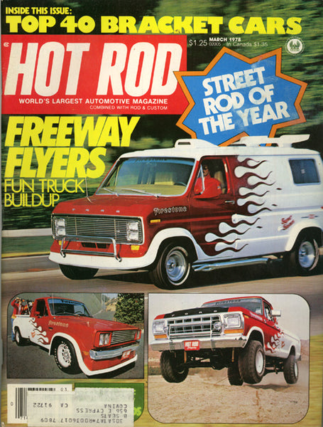 Hot Rod Magazine March 1978