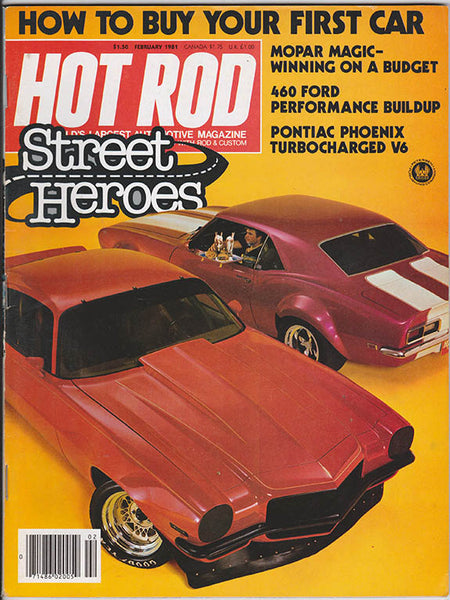February 1981 Hot Rod Magazine - Nitroactive.net