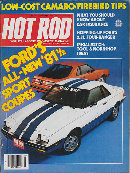 March 1981 Hot Rod Magazine - Nitroactive.net