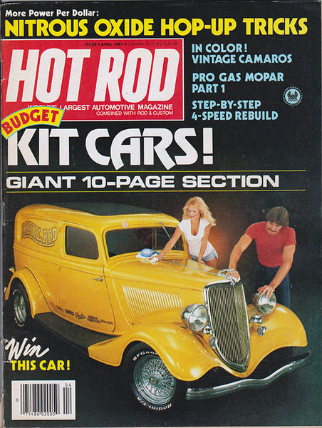 April 1981 Hot Rod Magazine - Nitroactive.net